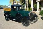 1928 FORD MODEL A PICKUP - Front 3/4 - 117659