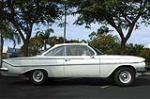 1961 CHEVROLET BEL AIR 2 DOOR COUPE - Side Profile - 117666