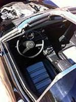 1971 CHEVROLET CORVETTE CUSTOM COUPE - Interior - 117690