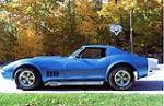 1968 CHEVROLET CORVETTE CUSTOM 2 DOOR COUPE - Side Profile - 117692