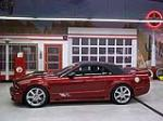 2006 FORD SALEEN MUSTANG SUPERCHARGED CONVERTIBLE - Rear 3/4 - 117703