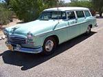 1956 CHRYSLER WINDSOR TOWN & COUNTRY 4 DOOR WAGON - Front 3/4 - 117759