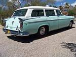 1956 CHRYSLER WINDSOR TOWN & COUNTRY 4 DOOR WAGON - Rear 3/4 - 117759