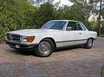1980 MERCEDES-BENZ 500SLC 2 DOOR COUPE - Front 3/4 - 117778