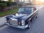 1971 MERCEDES-BENZ 280SE CABRIOLET CONVERSION - Front 3/4 - 117781