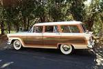 1956 FORD COUNTRY SQUIRE STATION WAGON - Front 3/4 - 117810