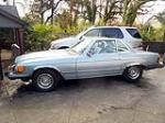 1982 MERCEDES-BENZ 380SL CONVERTIBLE - Side Profile - 117840