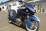 2002 ALLIGATOR DAN GURNEY MOTORCYCLE - Front 3/4 - 117894