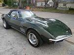 1969 CHEVROLET CORVETTE CONVERTIBLE - Front 3/4 - 125060