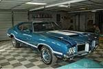 1971 OLDSMOBILE 442 2 DOOR COUPE - Front 3/4 - 125102