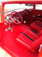 1955 CHEVROLET 150 CUSTOM 2 DOOR SEDAN - Interior - 125125