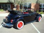 1971 VOLKSWAGEN BEETLE CONVERTIBLE - Rear 3/4 - 125130