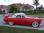 1956 FORD THUNDERBIRD CONVERTIBLE - Front 3/4 - 125158