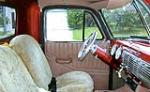 1952 CHEVROLET 3100 CUSTOM PICKUP - Interior - 125161