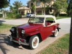 1949 WILLYS JEEPSTER CONVERTIBLE - Front 3/4 - 125163