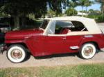 1949 WILLYS JEEPSTER CONVERTIBLE - Side Profile - 125163