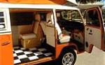 1973 VOLKSWAGEN WESTFALIA CUSTOM CAMPER BUS - Interior - 125171