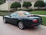 2002 JAGUAR XKR CONVERTIBLE - Rear 3/4 - 125175