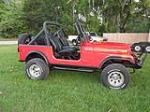 1979 JEEP CJ-7 CUSTOM SUV - Side Profile - 125181