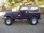1980 JEEP CJ-7 CUSTOM SUV - Side Profile - 125186
