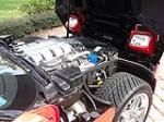 1995 CHEVROLET CORVETTE ZR1 COUPE - Engine - 125188
