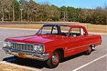 1964 CHEVROLET BISCAYNE 2 DOOR SEDAN - Front 3/4 - 125250