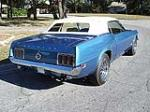 1970 FORD MUSTANG CONVERTIBLE - Rear 3/4 - 125255