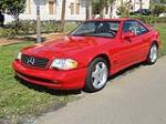 2001 MERCEDES-BENZ SL500 CONVERTIBLE - Front 3/4 - 125272