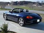 2001 PORSCHE BOXSTER CONVERTIBLE - Rear 3/4 - 125300