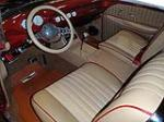 1956 CHEVROLET BEL AIR CUSTOM CONVERTIBLE - Interior - 125328