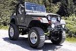 1976 JEEP CJ-5 CUSTOM - Front 3/4 - 125352
