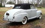 1941 FORD SUPER DELUXE CONVERTIBLE - Rear 3/4 - 125353
