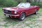 1966 FORD MUSTANG CONVERTIBLE - Front 3/4 - 125664