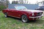 1966 FORD MUSTANG CONVERTIBLE - Side Profile - 125664