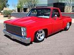 1982 CHEVROLET C-10 CUSTOM PICKUP - Front 3/4 - 125710