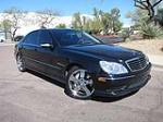 2004 MERCEDES-BENZ S55 AMG 4 DOOR SEDAN - Front 3/4 - 125732