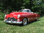 1948 CADILLAC SERIES 62 CUSTOM CONVERTIBLE - Front 3/4 - 125740