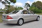 2000 MERCEDES-BENZ S500 4 DOOR SEDAN - Rear 3/4 - 125749