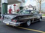 1958 CHEVROLET IMPALA CUSTOM 2 DOOR HARDTOP - Rear 3/4 - 125761