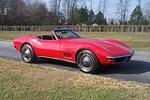 1969 CHEVROLET CORVETTE CONVERTIBLE - Front 3/4 - 125767