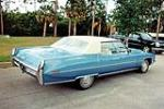 1971 CADILLAC SEDAN DE VILLE 4 DOOR SEDAN - Rear 3/4 - 125784