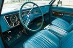 1972 CHEVROLET BLAZER 2 DOOR - Interior - 125797
