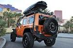 2011 JEEP WRANGLER CUSTOM 4 DOOR HARDTOP - Rear 3/4 - 125815