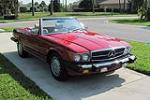 1988 MERCEDES-BENZ 560SL CONVERTIBLE - Front 3/4 - 126414