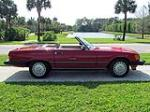 1988 MERCEDES-BENZ 560SL CONVERTIBLE - Side Profile - 126414