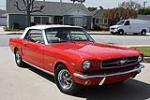 1965 FORD MUSTANG CONVERTIBLE - Front 3/4 - 130235