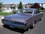 1965 PONTIAC GTO 2 DOOR COUPE - Rear 3/4 - 130241
