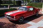 1965 FORD MUSTANG CUSTOM FASTBACK - Front 3/4 - 130249