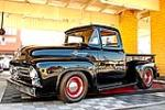 1956 FORD F-100 CUSTOM PICKUP - Side Profile - 130252