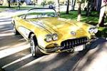 1958 CHEVROLET CORVETTE CUSTOM CONVERTIBLE - Front 3/4 - 130253